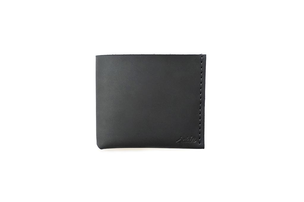 Black Cowhide Bi-fold 3