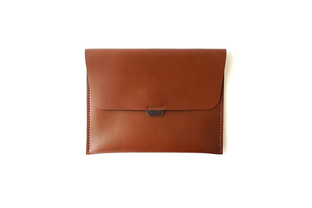 Vegetable Tanned Ipad Clutch 1